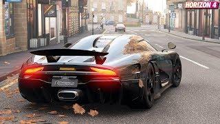 Forza Horizon 4 - Koenigsegg REGERA   Gameplay