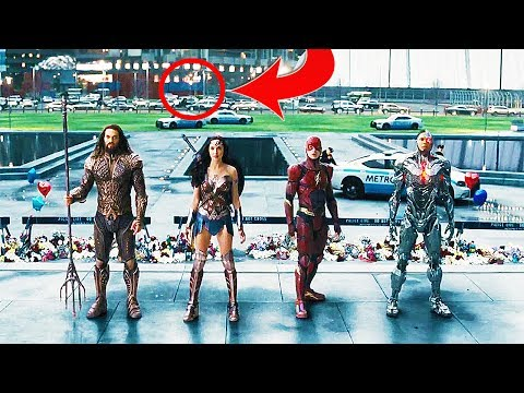 10 JUSTICE LEAGUE Comic-Con Trailer EASTER EGGS You May Have Missed