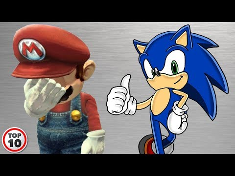 Top 10 Reasons Why Sonic is Better Than Mario