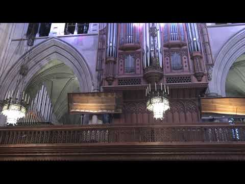 Washington National Cathedral prepares for the funeral of former President George H W  Bush