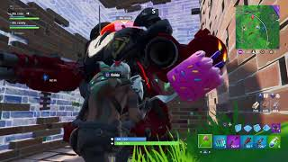 Fortnite : incredible REAL VITTORY WITH THE BRUTO!