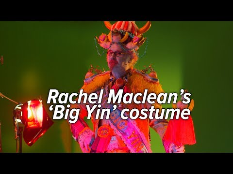 Billy Connolly Sees Rachel Maclean's 'Big Yin' Costume For The First Time