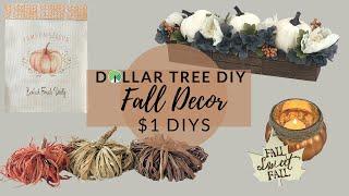 **NEW** DOLLAR TREE DIY FALL FARMHOUSE DECOR 2020