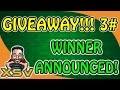 Giveaway 3 Winner Announced! PSN Voucher Xbox Live Credits Steam Voucher
