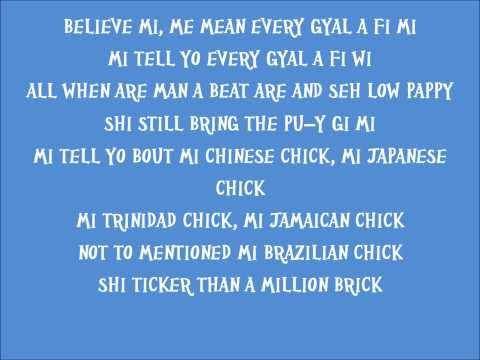 Popcaan - Every Gyal A Fi We Lyrics