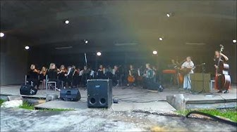 Rönsy & Youth LuostoClassic Orchestra - live at Ukko-Luosto 12.8.2017
