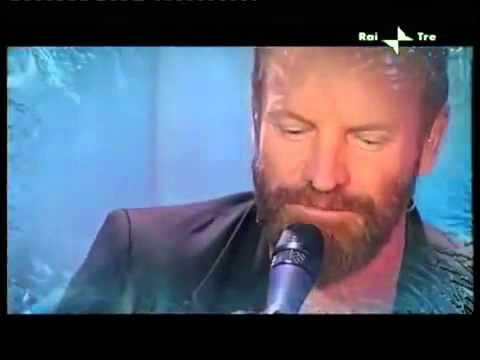 Sting on Rai Tre   8 8   Interview   If On A Winter's Night   Soul Cake