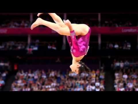 Aly Raisman Wins Womens Floor Exercise Gold Medal 2012