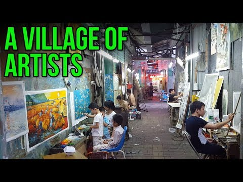 Dafen - A Village of Artists in China