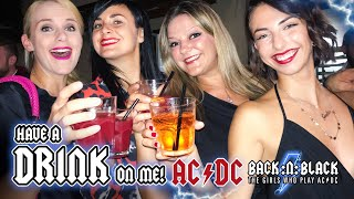 Have a Drink on Me LIVE Pro shot - BACK:N:BLACK - The Girls Who Play AC/DC (HD)