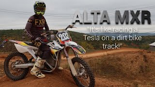 ALTA E-BIKE is FASTER than my 450!