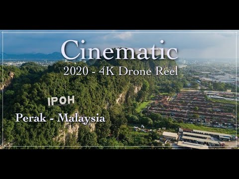 Ipoh City 4K Drone / Aerial View 2020