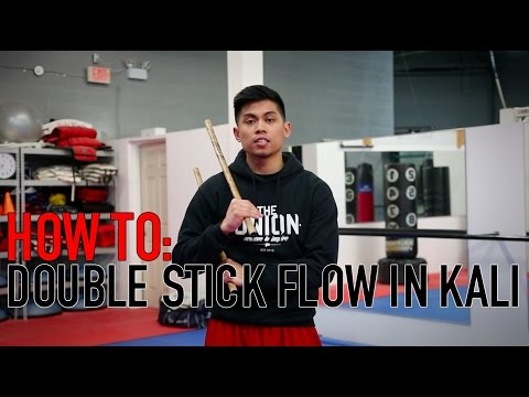 HOW TO FLOW DOUBLE STICK IN KALI