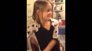 9 year old sing Who Shot Sam by Wanda Jackson