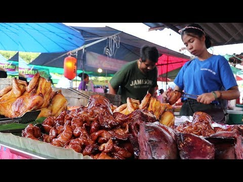 Weird Street Food in Thailand | Taste Testing Bizarre Foods | Thai Street Food Tour