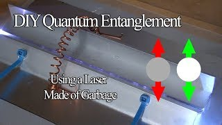Can you make quantum entangled photons using garbage and fertilizer? Probably.