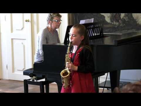 Koncert ZUŠ Nicole č. 2 saxofon 10.5.2017