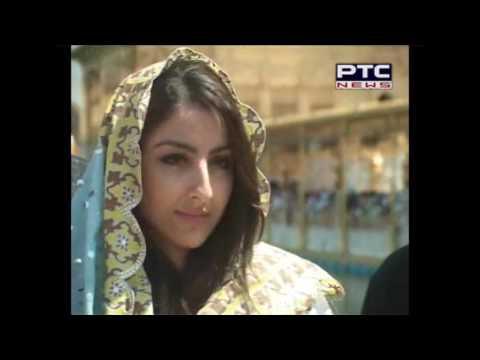 Actor Soha Ali Khan Visit at Golden Temple
