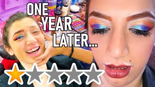 I WENT TO THE SAME WORST REVIEWED MAKEUP ARTIST after ONE YEAR