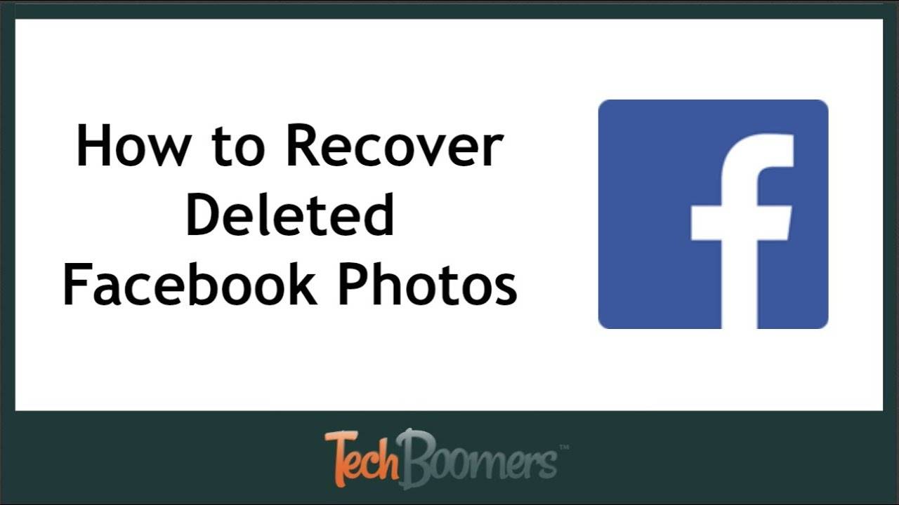 facebook photo recovery