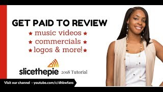 Slice the Pie 2018: Get Paid To Review Music Videos, Commercials, Logos, & More!