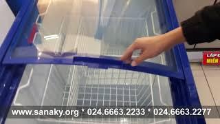 Giá tủ đông Sanaky - Tủ đông nắp kính - Tủ đông trưng bày - Giá tủ kem Sanaky