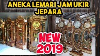 10 Model Lemari Jam Hias Ukir Jati Jepara Harga 2 4jutaan