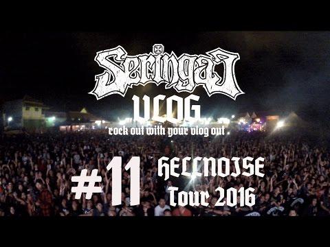 Seringai Vlog no.11 Hellnoise Tour 2016