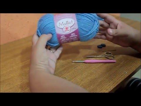 f2c9a5fe1be3f Boné de crochê - MRA Artesanatos - YouTube