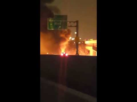 Live recording of Accident on I95 in Maryland in 12/17/2016