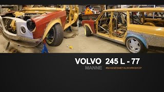 Mannes Volvo 245 L - 77 - #3 bruze 2015