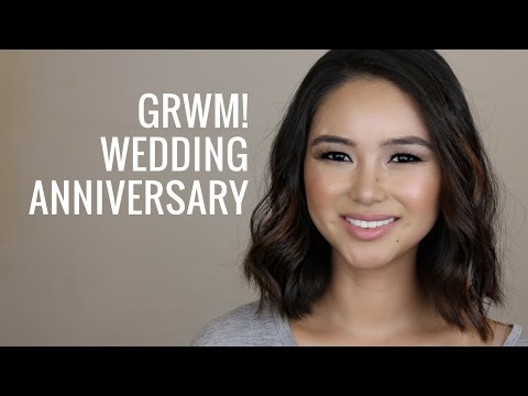 GRWM Wedding Anniversary Makeup Tutorial! All-Natural/Organic/Cruelty-Free | Teri Miyahira