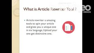 Article Rewriter Software Free Download