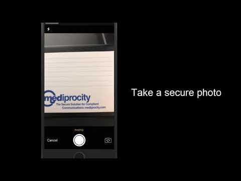 Mediprocity - HIPAA Compliant Messaging - Tutorial Mobile App 4 0