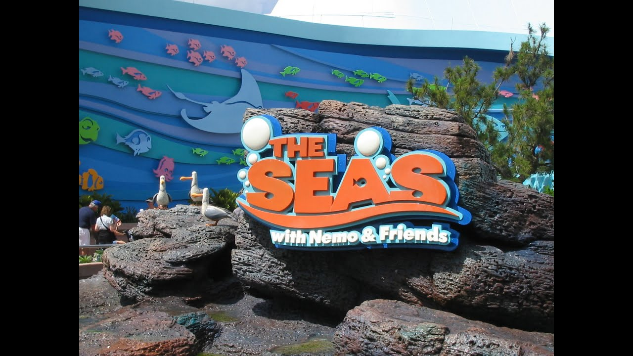 the living seas with nemo friends full ride queue plus gift shop youtube. Black Bedroom Furniture Sets. Home Design Ideas