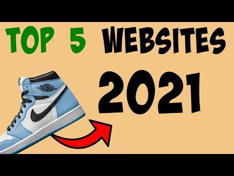 TOP 5 Websites To BUY Sneakers In 2021!