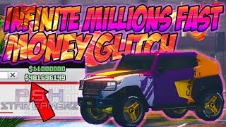 the best unlimited solo - GTA 5 Money Glitch *GET Million$ FAST* gta online 1.46 money glitch