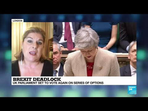 Brexit: UK Parliament set to vote again on series of options
