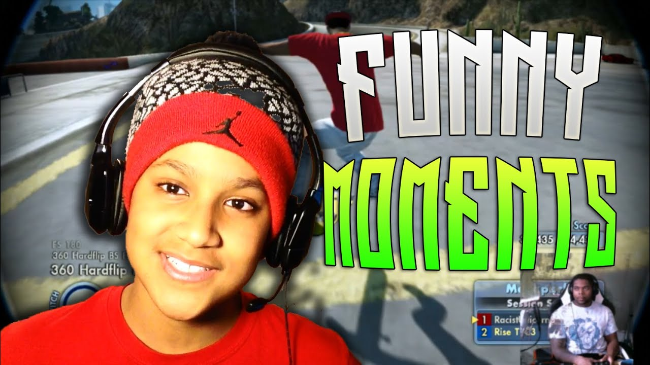Download SKATE 3 FUNNY MOMENTS WITH RISE T1C3