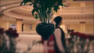Santa Claus arrives in Dubai, Kempinski Hotel Palm Jumeirah