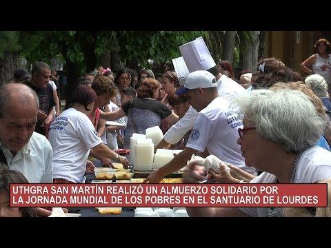 JORNADA MUNDIAL DE LOS POBRES EN EL SANTUARIO DE LOURDES