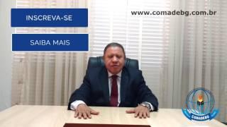 40ª AGO da COMADEBG - Convite Pr. Orcival Xavier