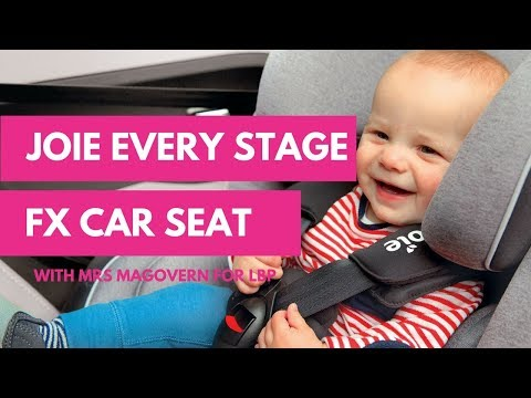Joie Every Stage FX Multistage Car Seat With Mrs Magovern For Lovedbyparents.com