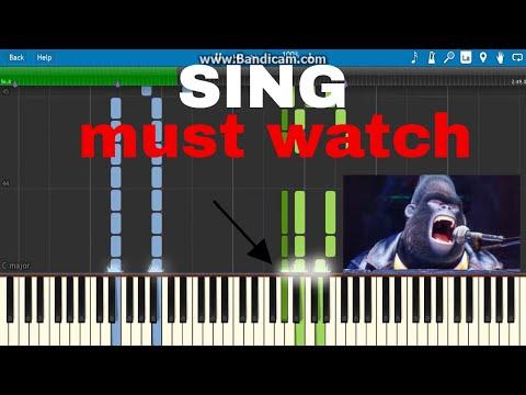 I'm still standing(sing)piano tutorial