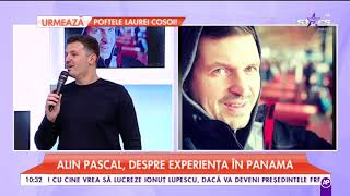 Alin Pascal, despre experenta in Panama