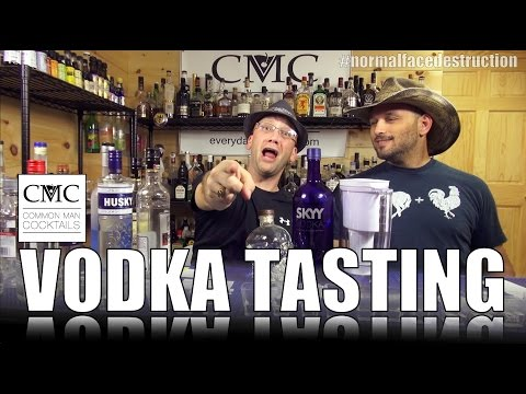 Exploration Series: Blind Vodka Tasting, with Brita Filtered Vodka