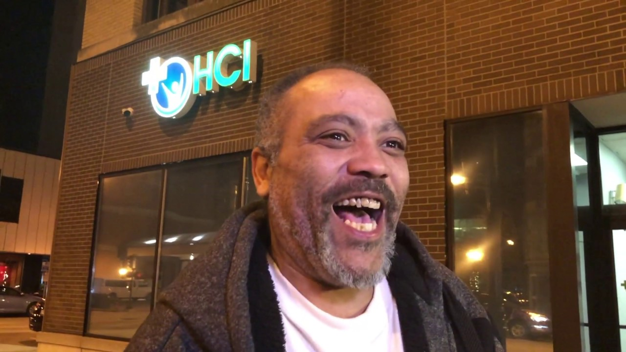 David Watson was the first person to purchase recreational cannabis in Springfield