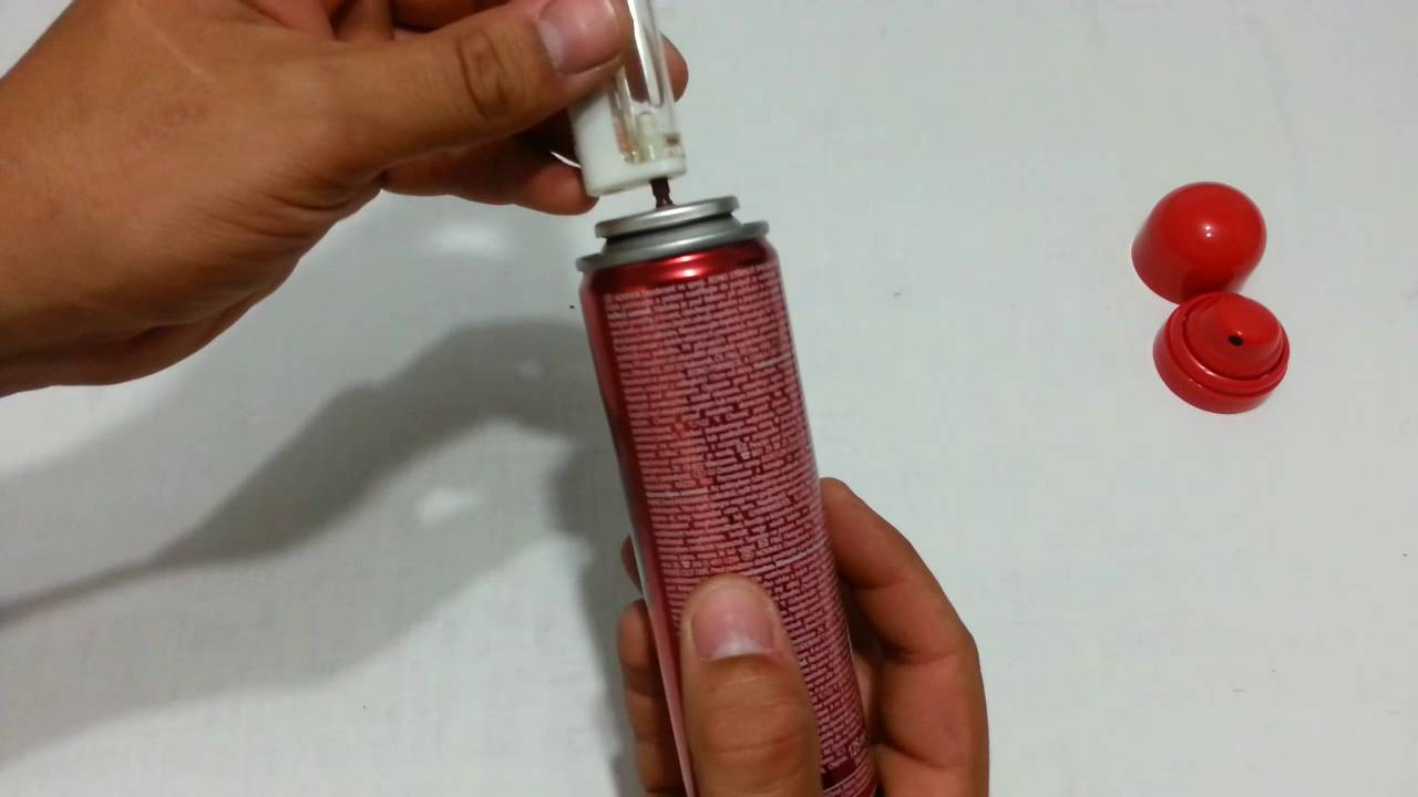 Life hack - How to refill lighter with deodorant