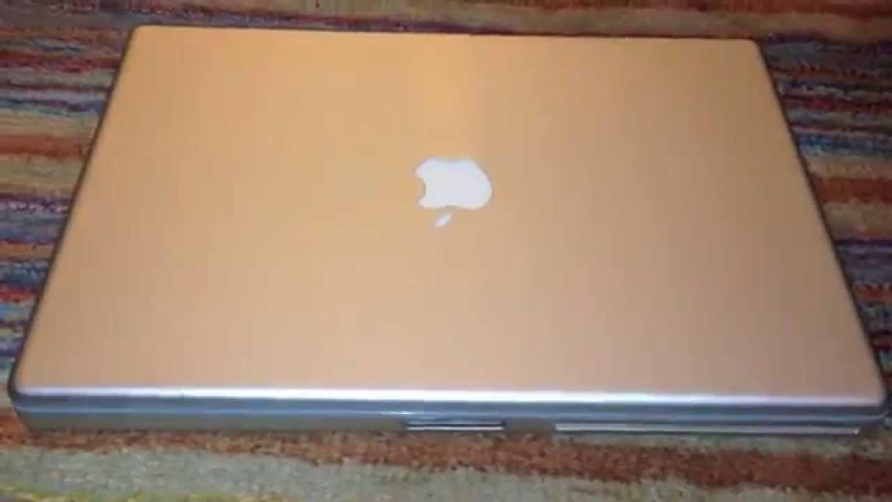Wonderbaar Apple PowerBook G4 Aluminum 15