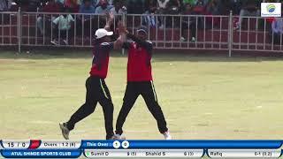 WNNERS VS PRATIK XI |SEMI FINAL MATCH SWA.BHAI GUJAR CHASHAK 2018 ,